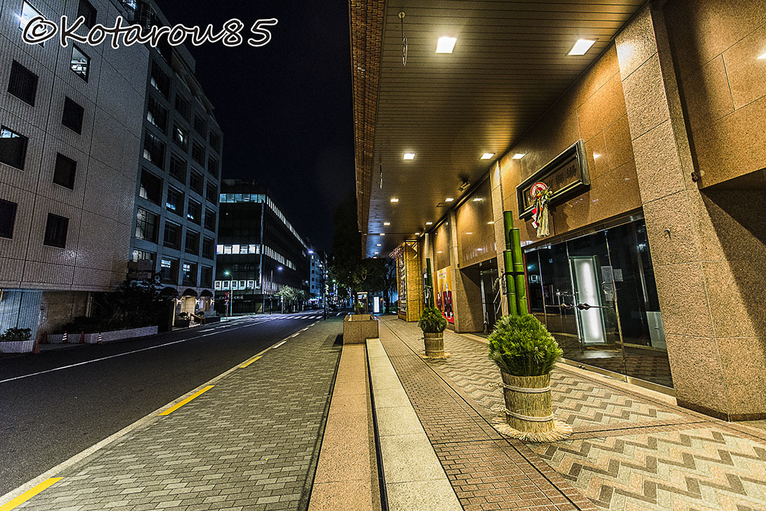 深夜の新橋演舞場9 20170105
