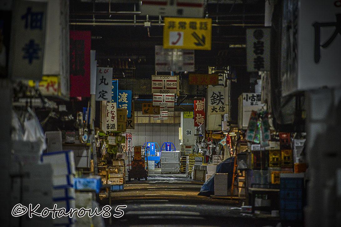 深夜の築地市場6 20170106