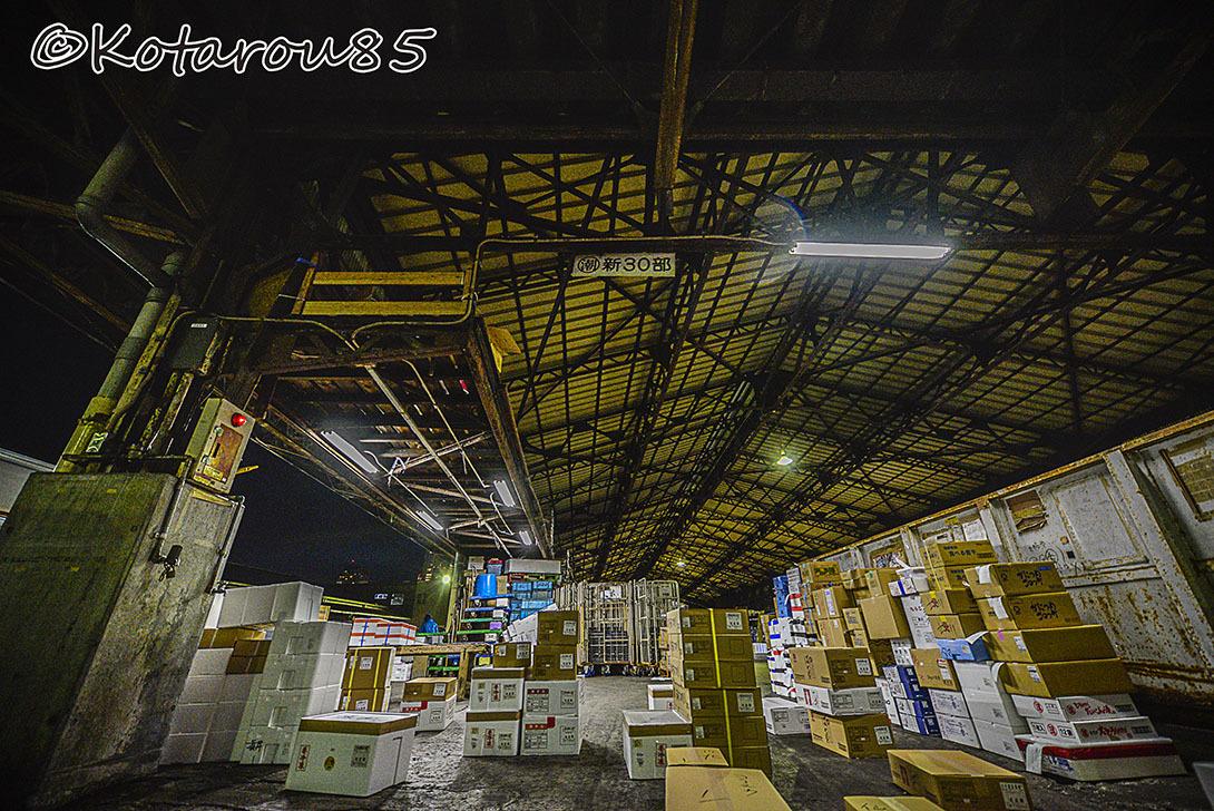 深夜の築地市場9 20170106