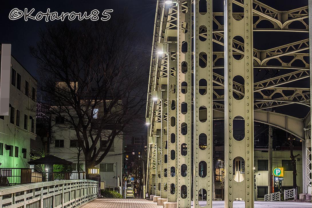 一つ目通りの萬年橋 20170108