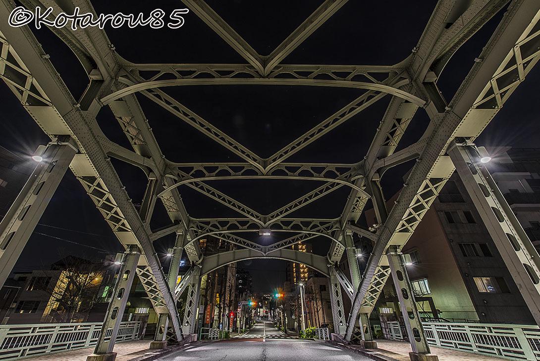 一つ目通りの萬年橋2 20170108