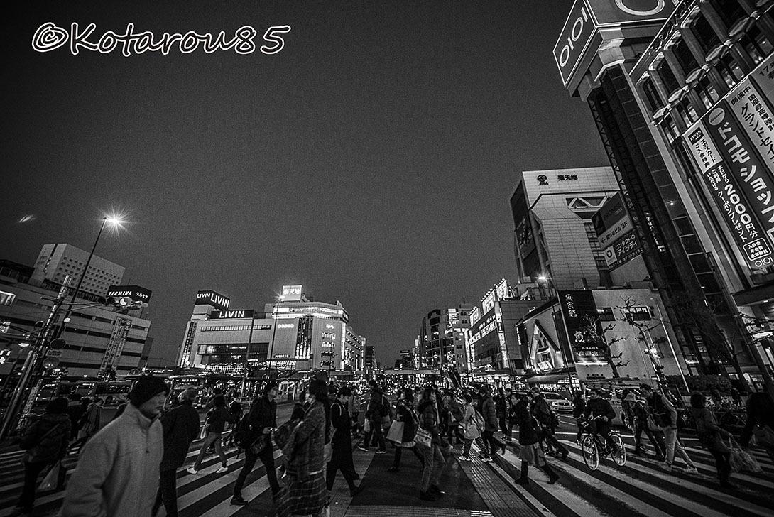 錦糸町の黄昏 20170110