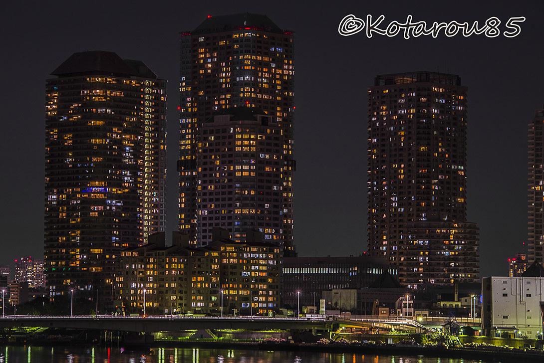 勝鬨橋から見た風景2 20170130