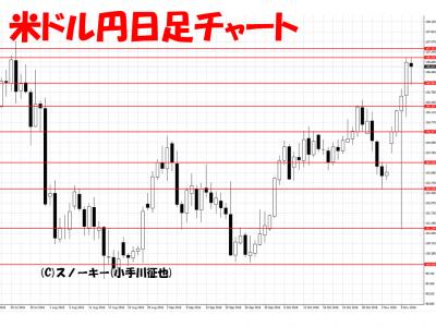 20161112米ドル円日足