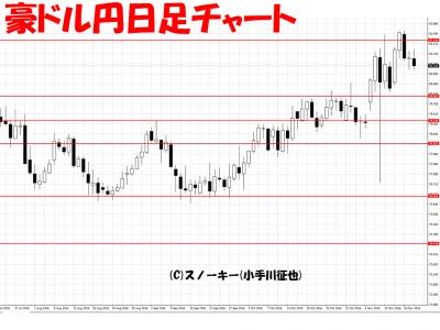 ループ・イフダン検証20161119豪ドル円日足