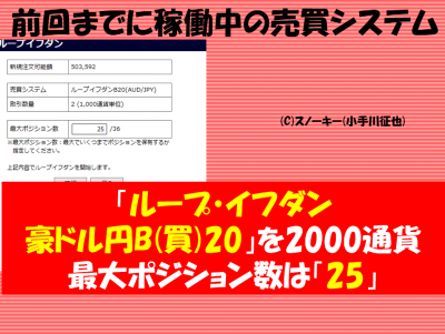 20161120【リアル】ループ・イフダン検証豪ドル円B20