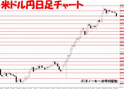 20161229ループ・イフダン検証米ドル円日足
