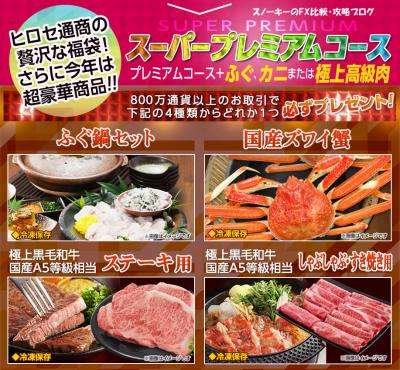 ヒロセ通商LION福袋2017年スーパープレミアムコース