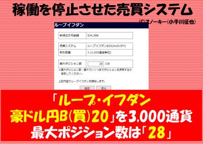 20170117ループ・イフダン検証豪ドル円ロング