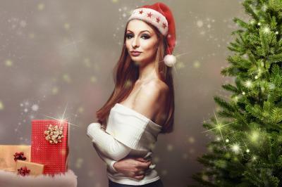 外人女性12月