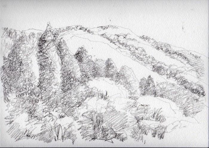 兵庫 秋の山 デッサン (700x498)