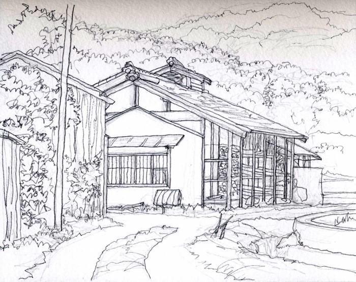 猪名川町木津付近 デッサン (700x555)
