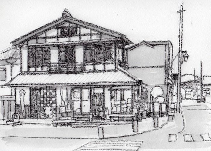 弥彦山登山口付近の土産店 グリザイユ (700x503)