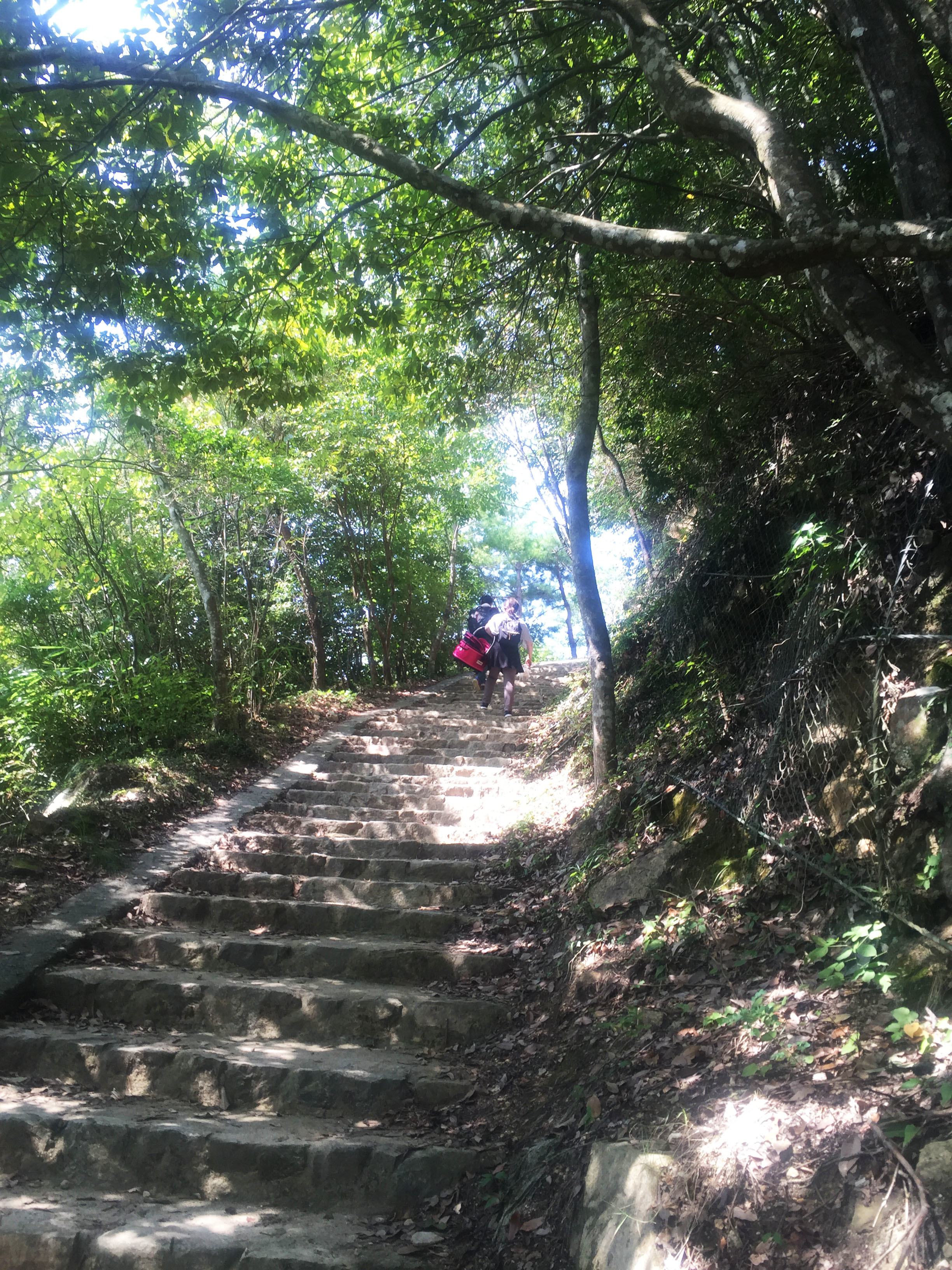 1609備中松山続く階段