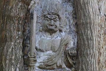 善願寺 生木不動(西村公朝作)