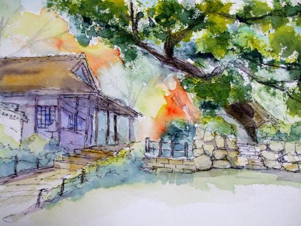 A久安寺入り口