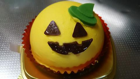 かぼちゃとチョコのケーキ (2)