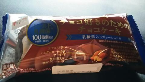 チョコ好きのためのチョコケーキ (1)