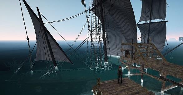 定期船が沈んだ