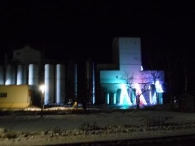 牛乳工場もジングルベル