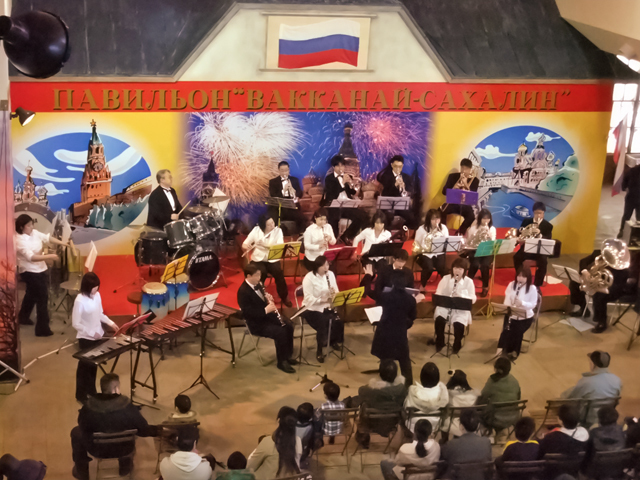 2011冬レンジャー大抽選会 吹奏楽団コンサート