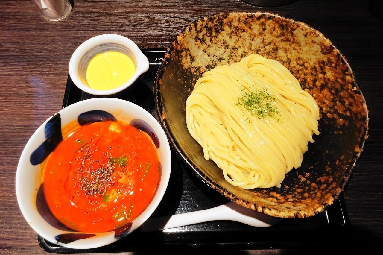 三ツ矢堂製麺 つけナポリタン