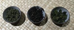 青茶干茶比較