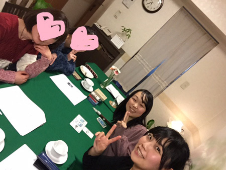 ルノルマンお茶会2017年1月28日