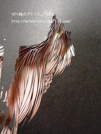 明けに鳴く鶏②
