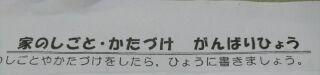 お手伝い2017編集