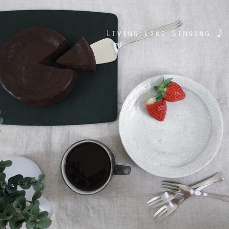 ウォーターチョコレートケーキ②