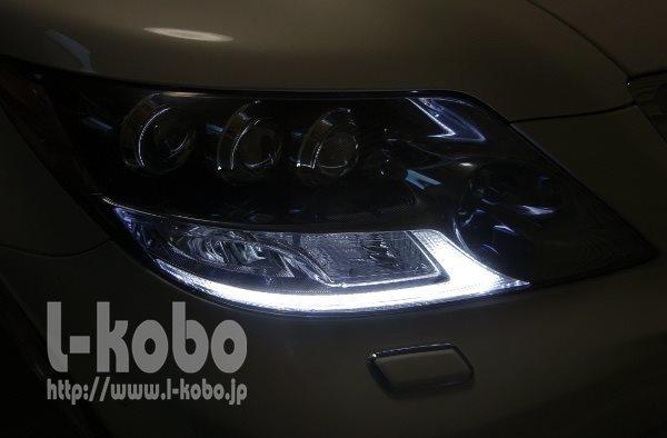 LS600ヘッドライト2