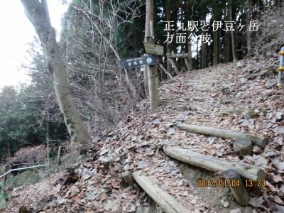 正丸峠(伊豆ヶ岳方面)