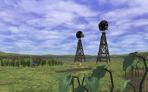 小さな風車