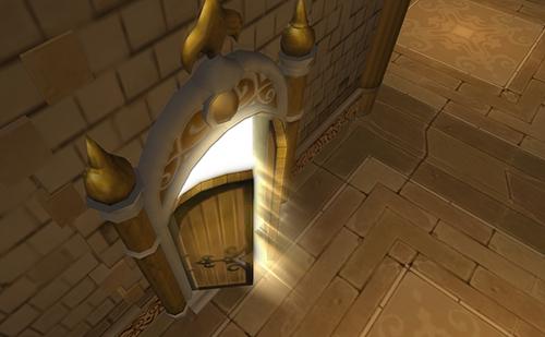 ついに開かれる金のほこらの扉
