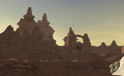 ヤグードたちの巣窟「オズトロヤ城」