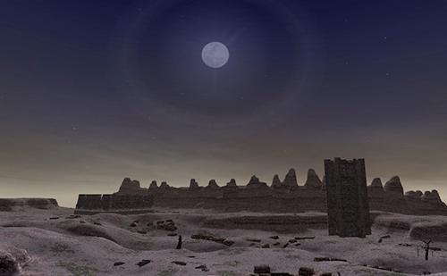 闇満月のときに