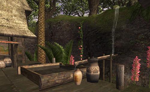 水汲み場がお気に入りでした