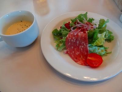 each (イーチ)のスープとサラダ