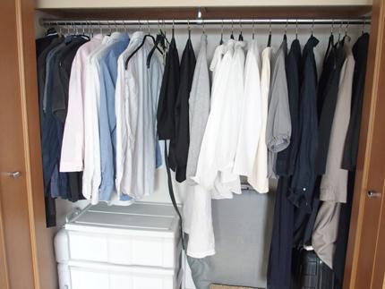 夫婦 洋服の量