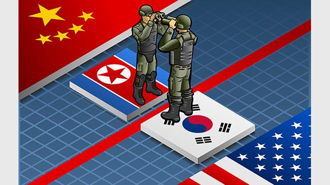 朝鮮半島対立