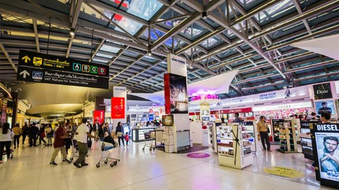 香港議員が暴行を受けた香港空港。