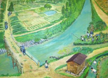 2012_02 13_西郷川で魚釣り