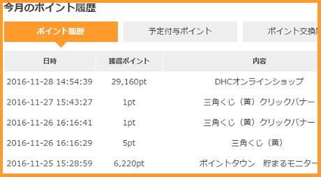 ポイントタウン 通帳1128