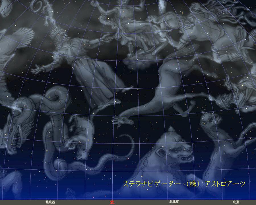 星図20161222こぐま座流星群01