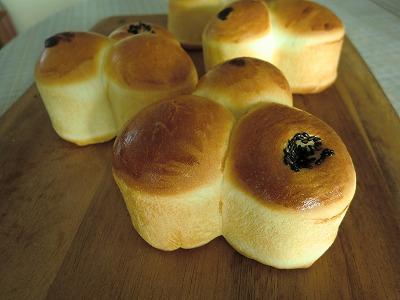 三つ子パン