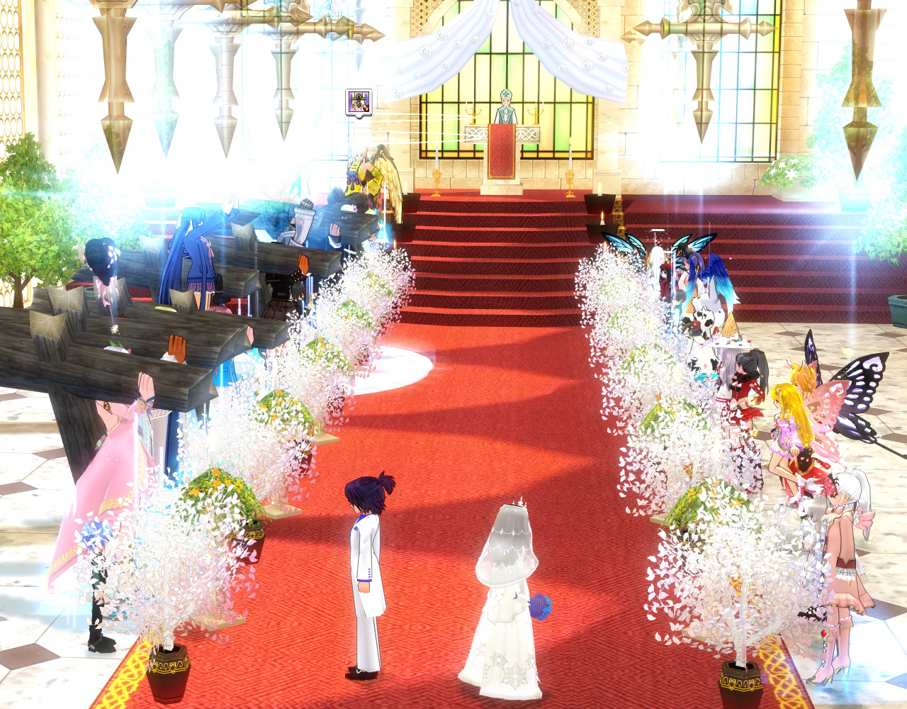 イメンマハ結婚式1