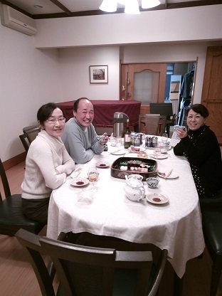 なごみ邸dinner time