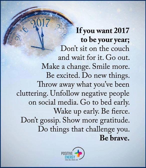 my new year resolution !