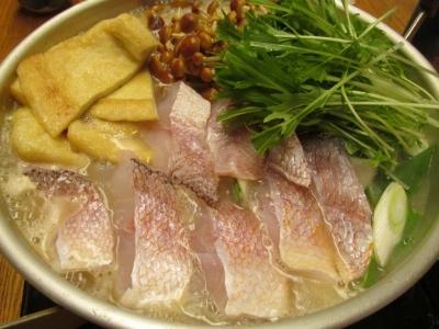 アマダイの広島レモン鍋1